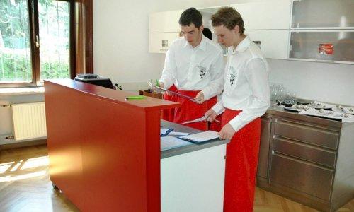 Lehrrestaurant FAW13 neu gestaltet