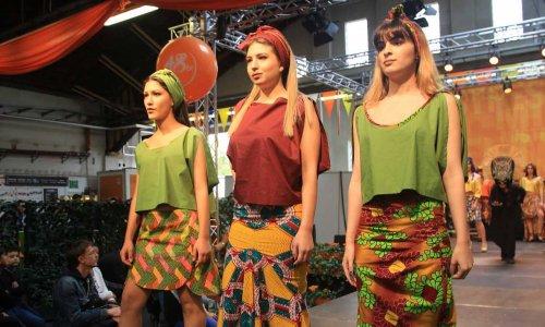 Fashionshow am Fest der MA48