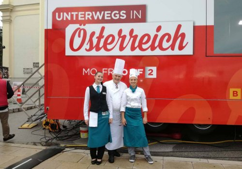 TV-Auftritt im ORF