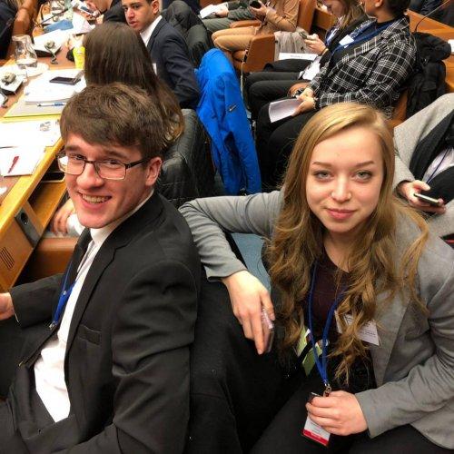 Für drei Tage UNO-Delegierte/r