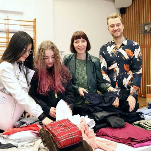 Klimatag in der Modeschule Hetzendorf