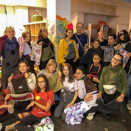 Modeschüler/innen unterstützen Ute-Bock-Haus