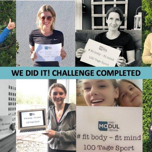 100 Tage Sport-Challenge am MODUL